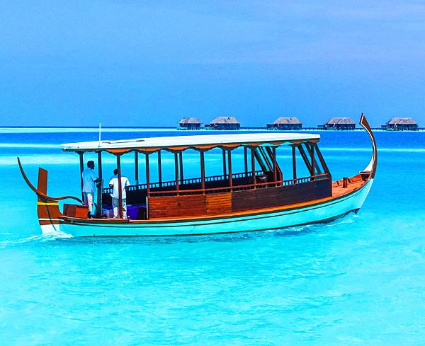 conrad maldives rangali island boat shuttle