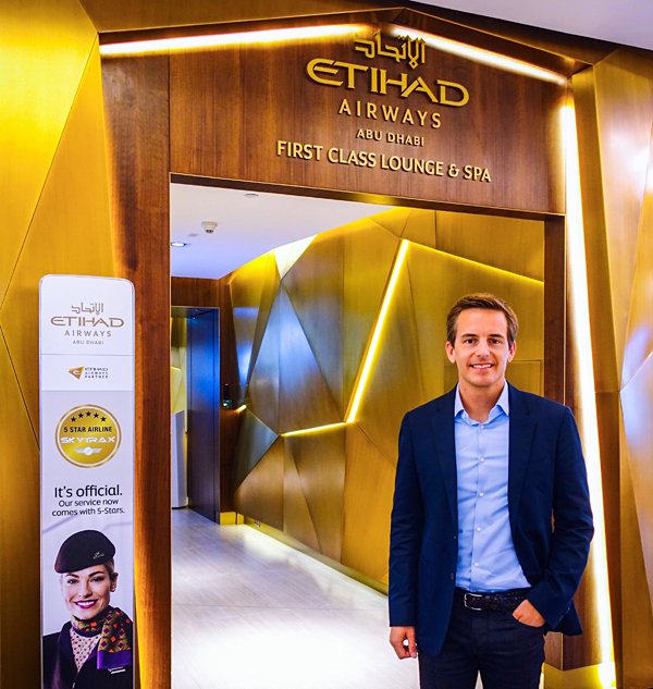 Etihad First Class Lounge and Spa Abu Dhabi Bart Lapers