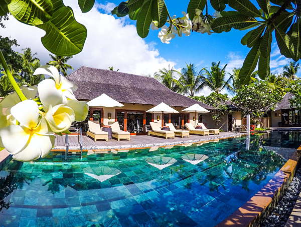 fitness pool Constance Ephelia Resort seychelles