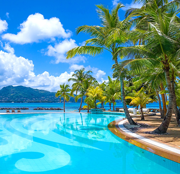 Pool at Beachcomber Seychelles Sainte-Anne Island