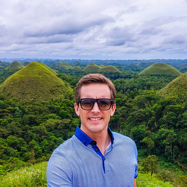 Chocolate Hills Bohol Philippines Bart Lapers