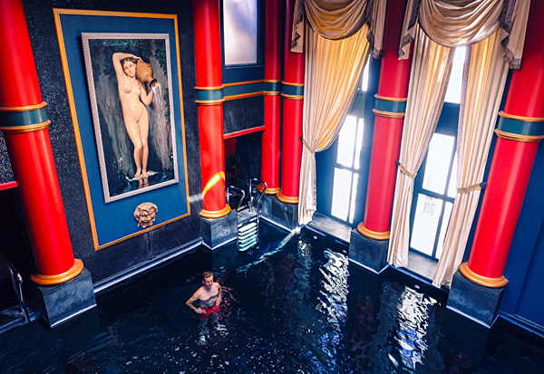Indoor Pool InterContinental Bordeaux Le Grand