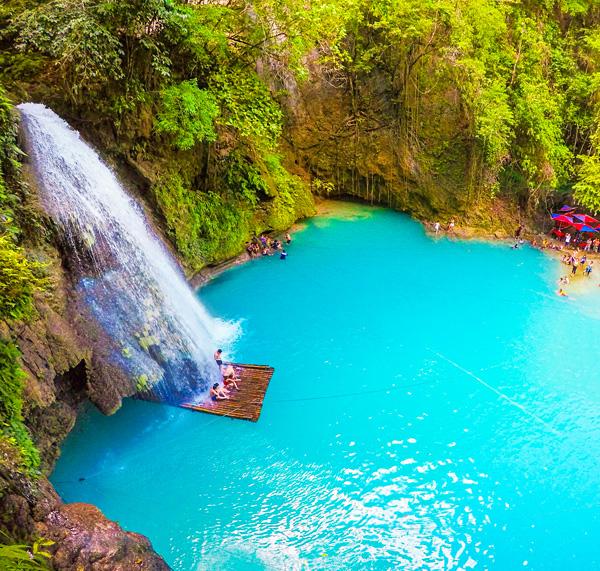 Kawasan falls canyoneering trip Cebu