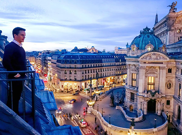Opera House View Prestige Suite at InterContinental Paris Le Grand