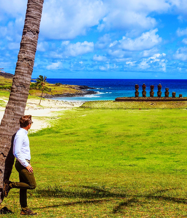 Anakena Beach Easter Island Bart Lapers