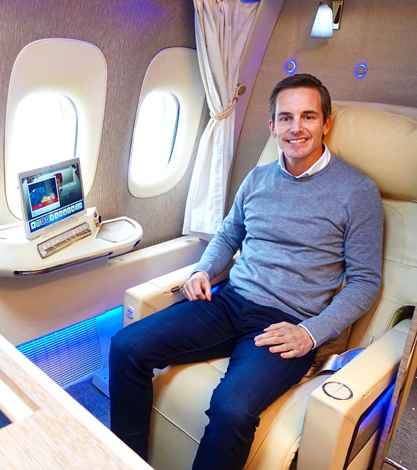 Emirates new First Class B777-300ER Bart Lapers