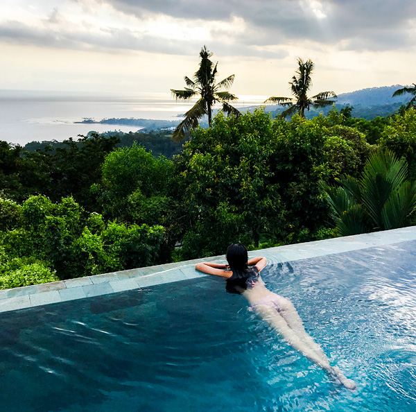 The Puncak Lombok Infinity Pool