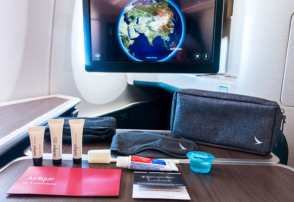 Cathay Pacific Business Class Amenity kit by Seventy Eight Percent Jurlique