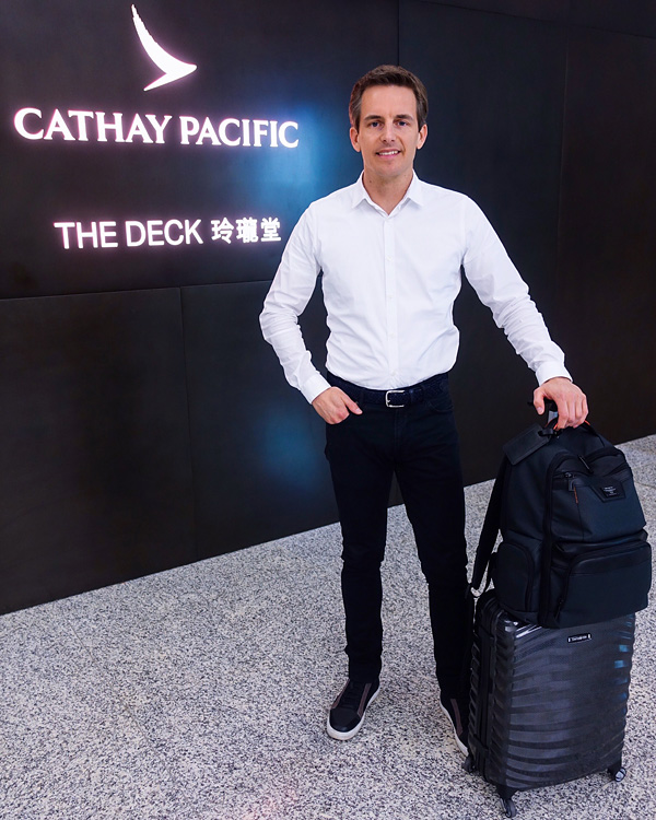Cathay Pacific The Deck Lounge Hong Kong Bart Lapers
