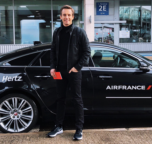Air France First Class La Premiere Chauffeur Service Bart Lapers April 2018
