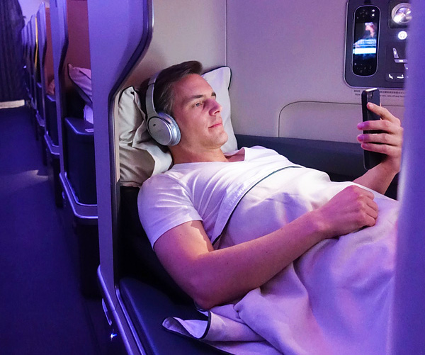 Cathay Pacific A350 Business Class Bart Lapers