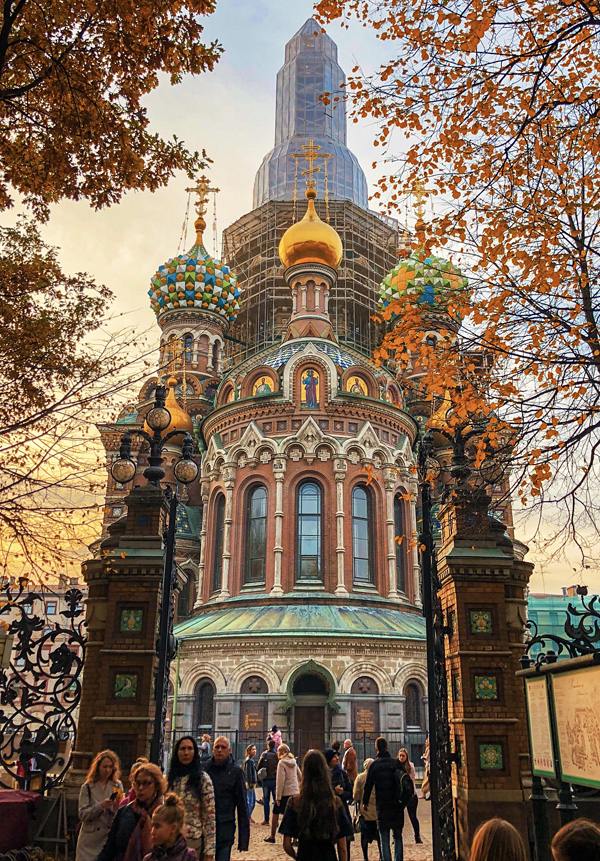 Church of the Savior on Blood Saint Petersburg October 2018