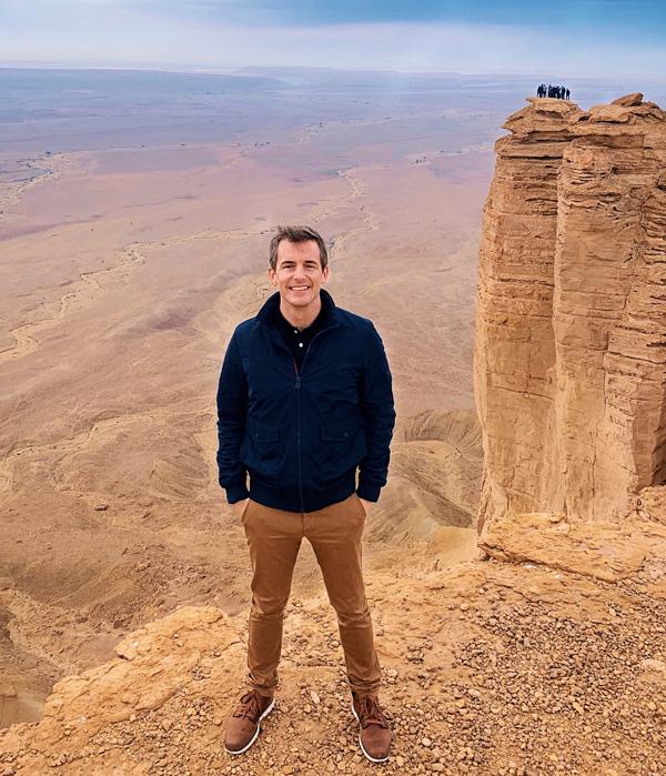 Edge of the World Bart Lapers Riyadh Saudi Arabia Dec 2018