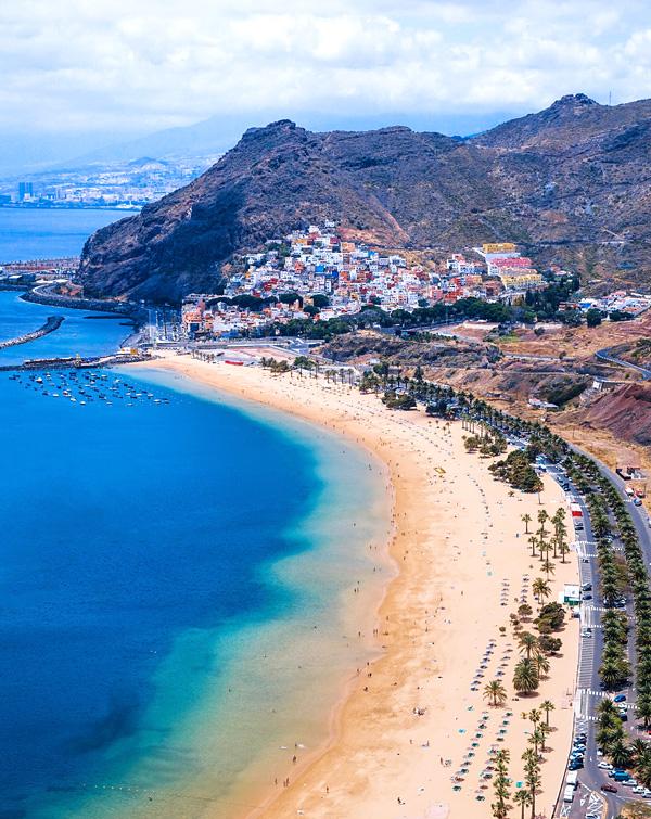 Playa de Las Teresitas Tenerife May 2018