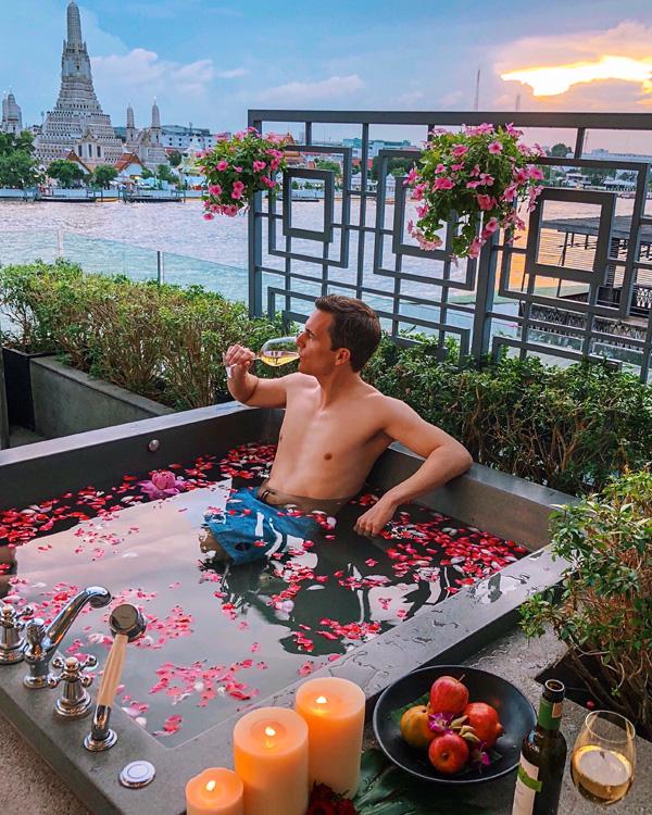 Riva Arun Premium Jacuzzi Suite Bangkok May 2018