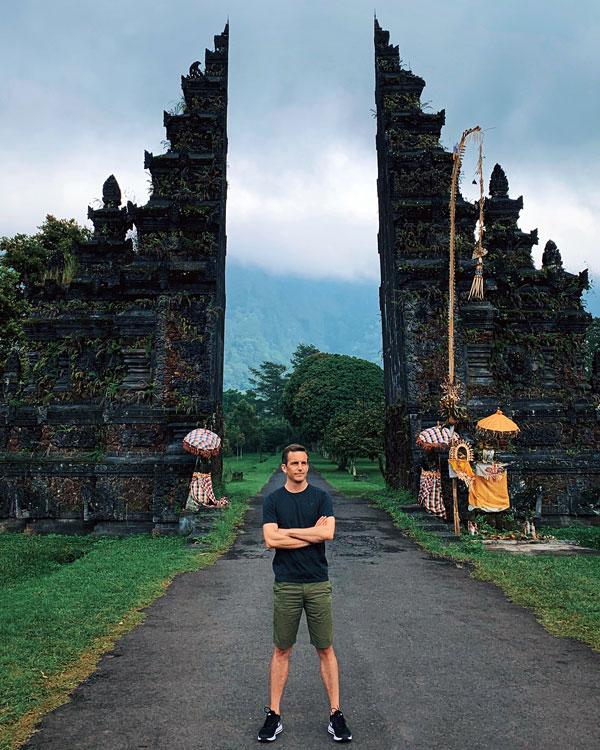 Bart Lapers at Gapura Bali Handara Kosaido