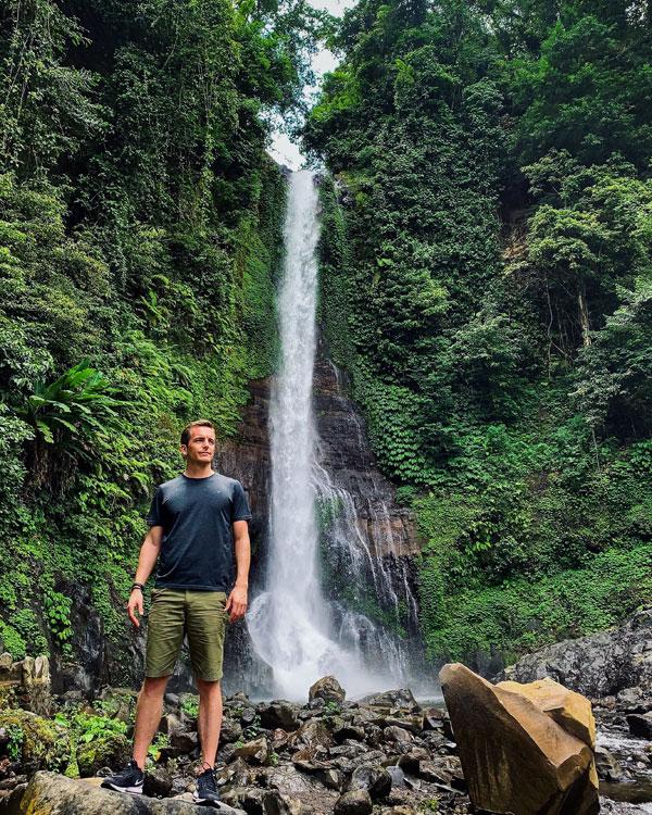 Gitgit Waterfall North Bali Indonesia