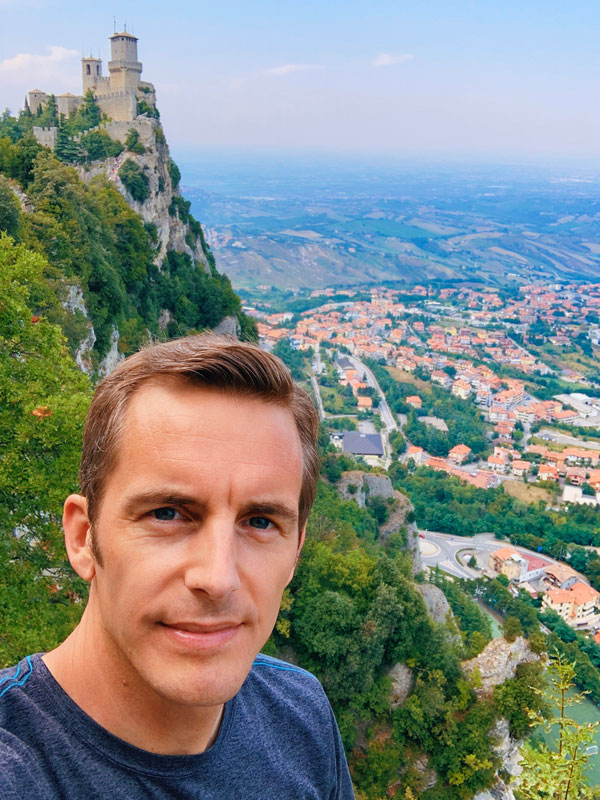 Bart Lapers in San Marino