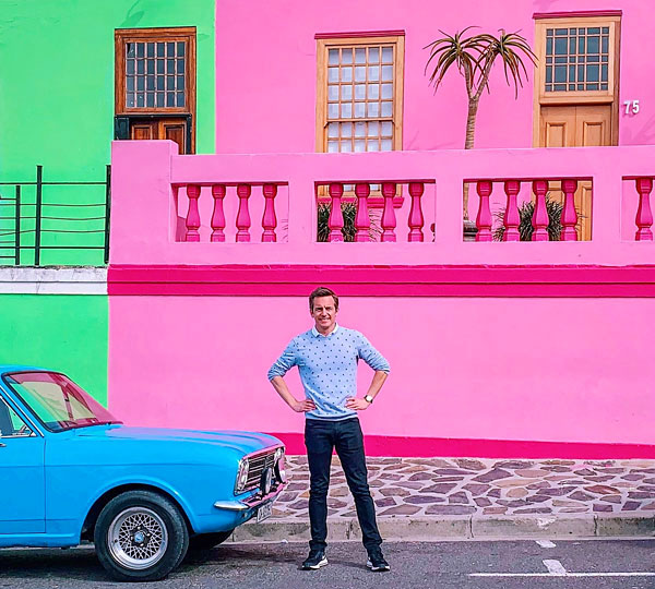 Bart Lapers in Bo-Kaap, Cape Town, South Africa 2019