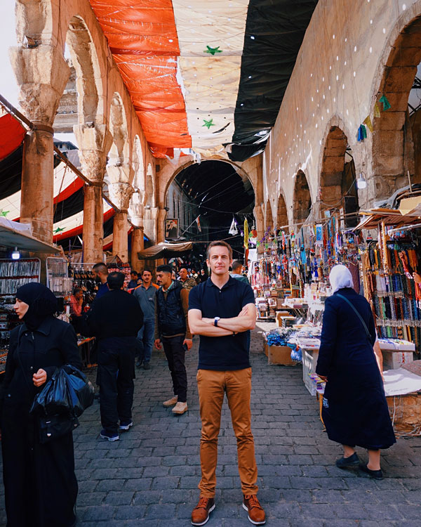 Bart Lapers in Damascus Syria