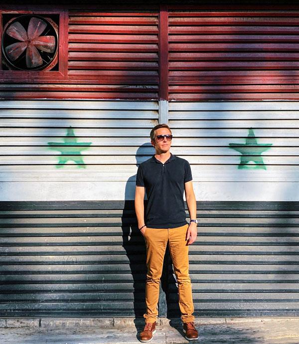 Bart Lapers in Damasus