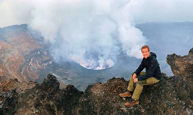 Bart Lapers Nyiragongo Volcano DRC Crater View