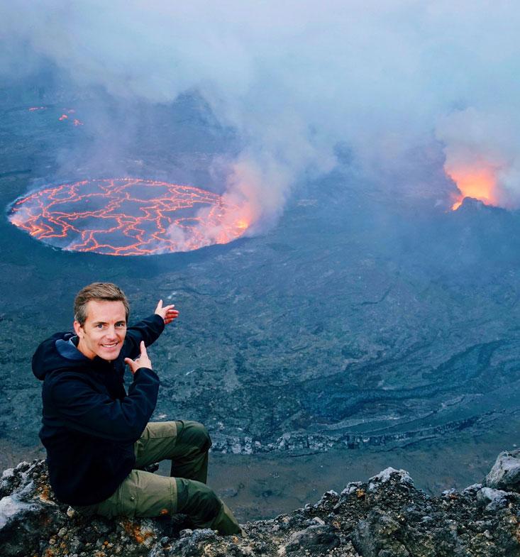 Bart Lapers Nyiragongo Volcano DR Congo February 2020