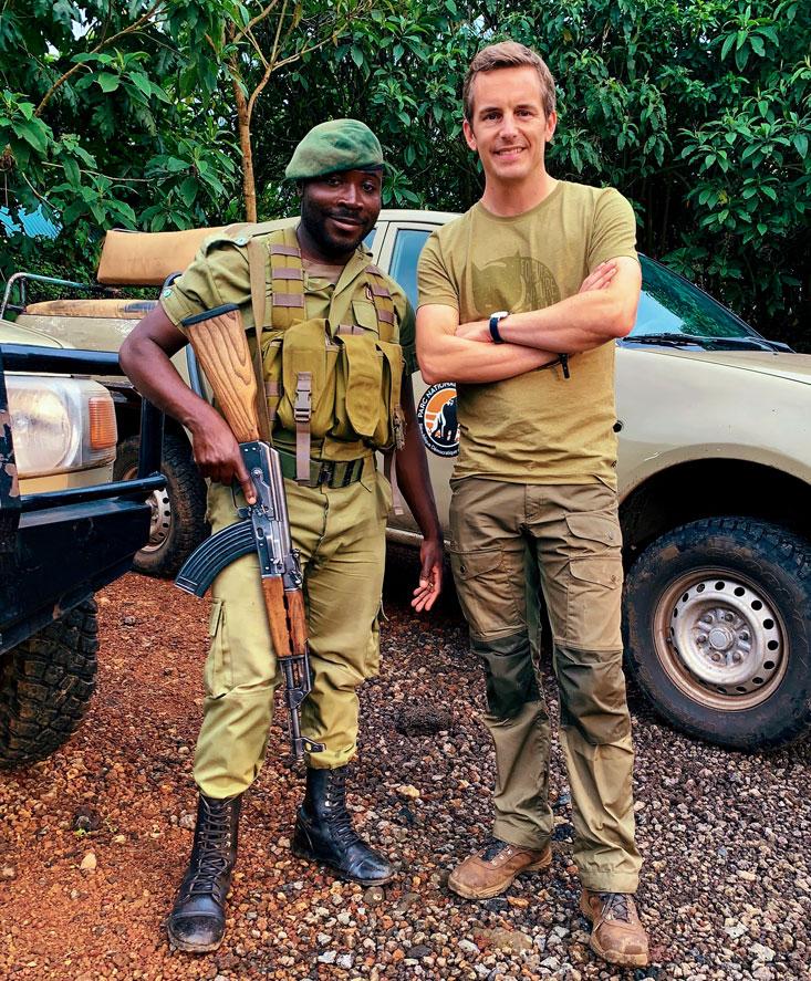 Bart Lapers Virunga Park Ranger Kibumba Tented Camp March 2020