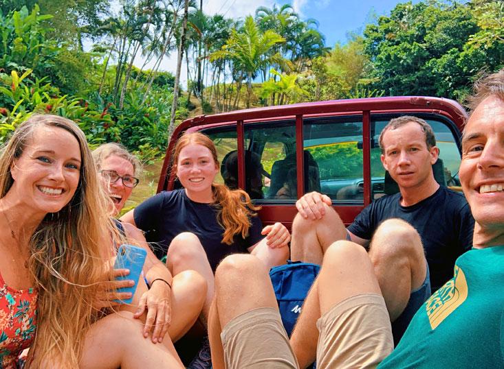 Caribbean Travel Buddies Sarah Garry and Friends