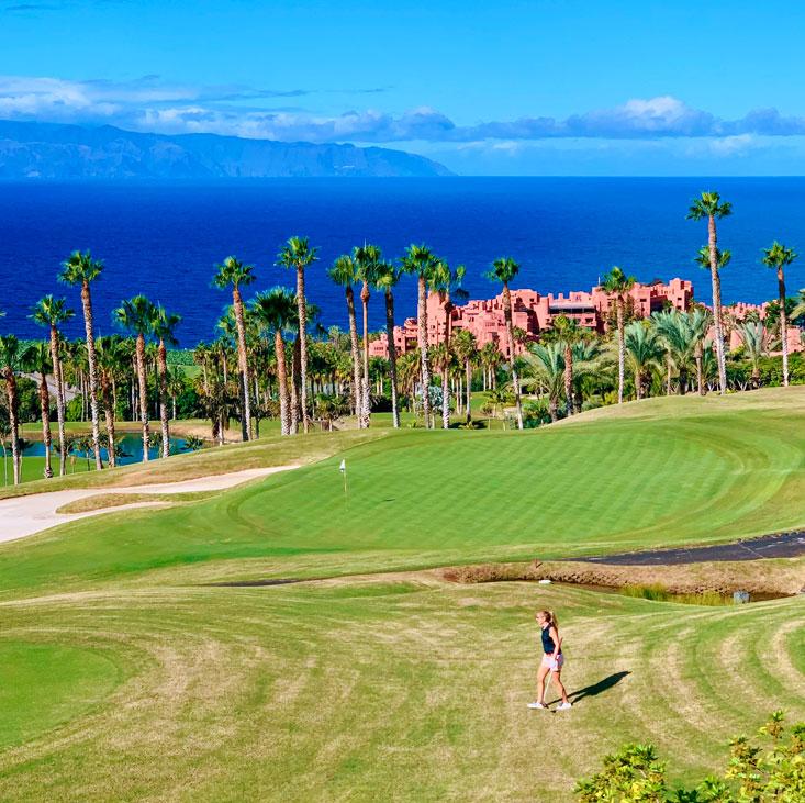 Golf at Abama Tenerife November 2020