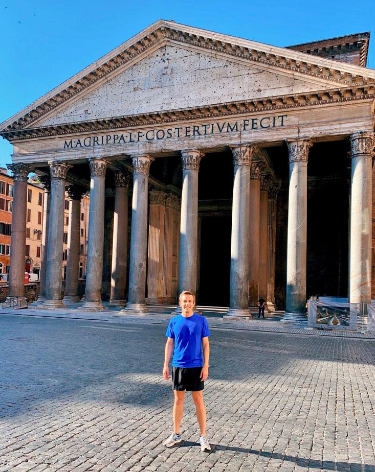 Pantheon Rome Bart Lapers June 2020
