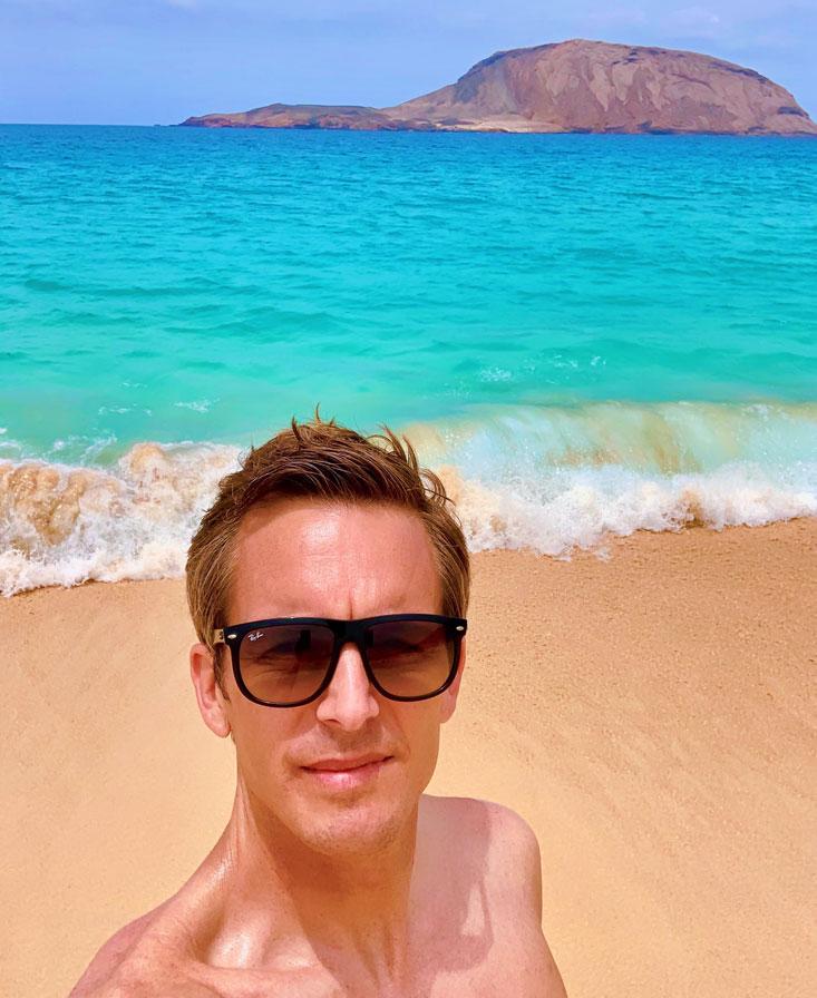 Playa de Las Conchas La Graciosa Bart Lapers August 2020