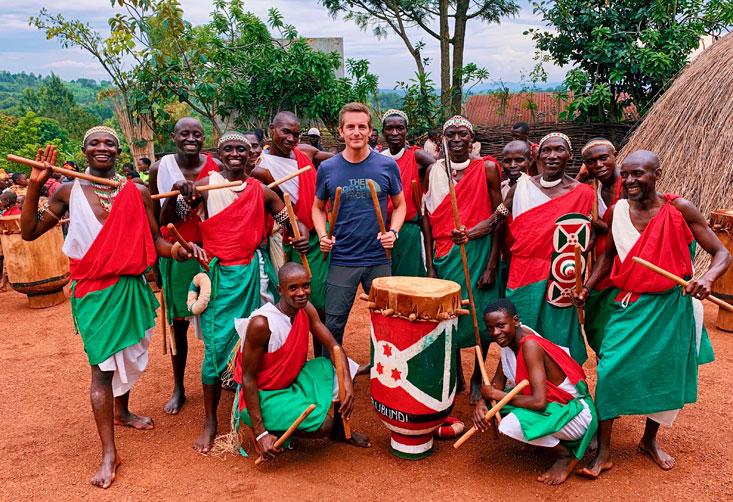 Royal Drummers of Burundi Gishora Bart Lapers March 2020