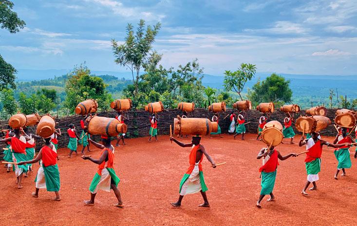 Royal Drummers of Burundi Gishora March 2020