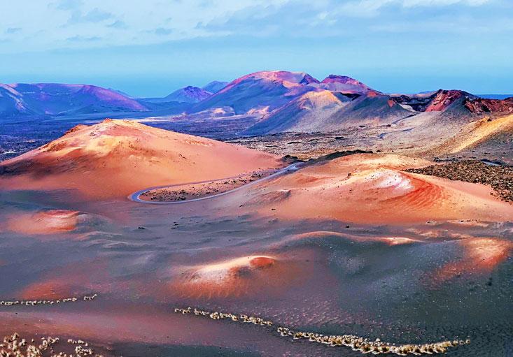 Timanfaya National Park Lanzarote Canary Islands August 2020