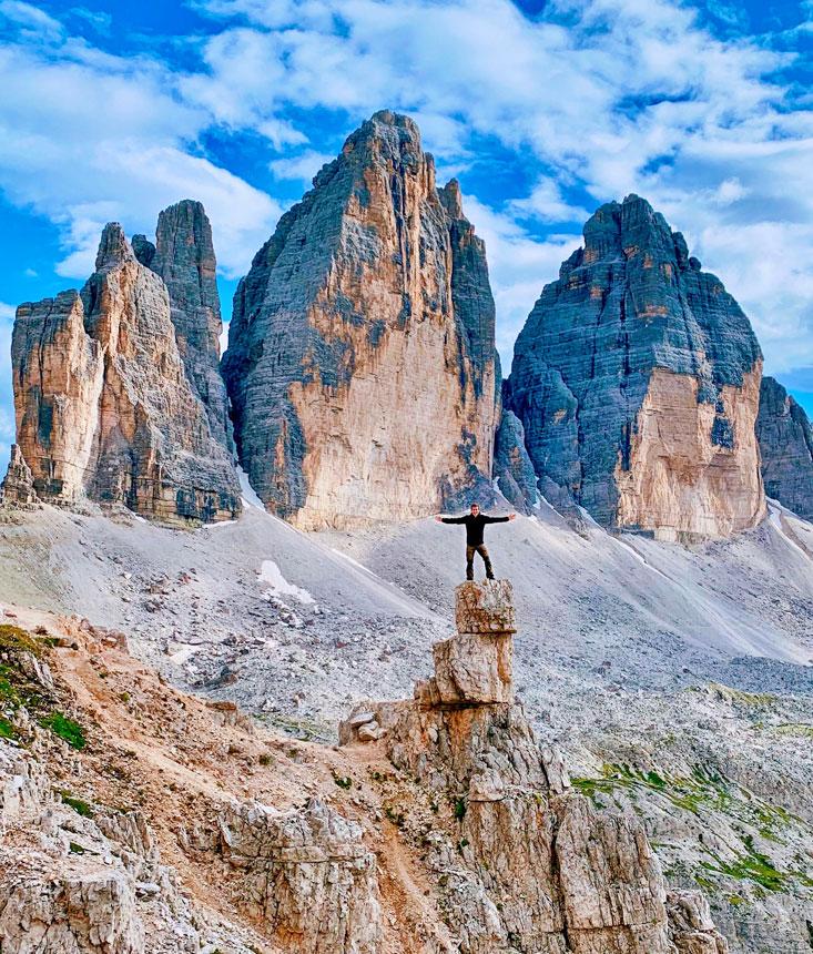 Tre Cime Di Lavaredo Dolomites Bart Lapers July 2020