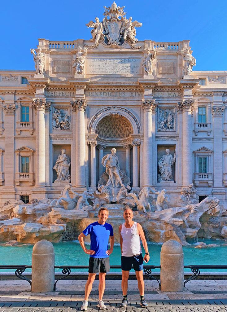 Trevi Fountain Rome Morning Run Bart Lapers Jun 2020