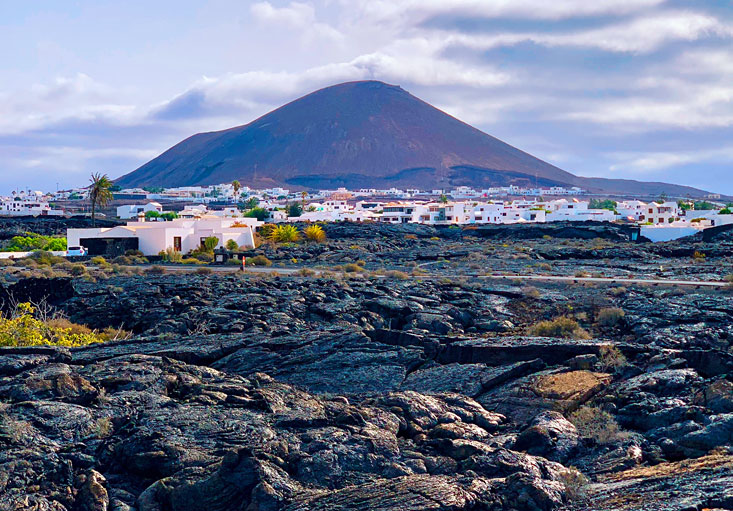 Volcanic Lanzarote Canary Islands August 2020